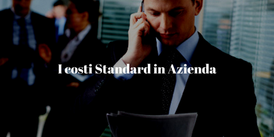 I costi standard in Azienda