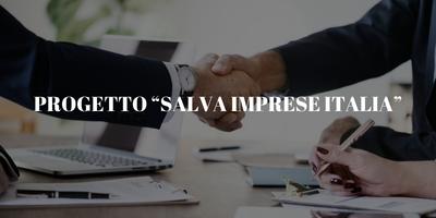 """PROGETTO """"SALVA IMPRESE ITALIA"""""""